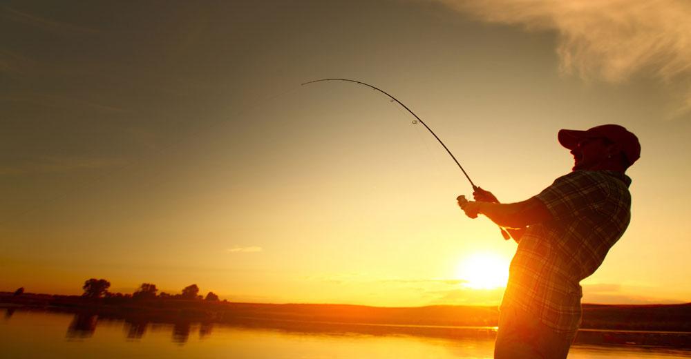 Sunset angling